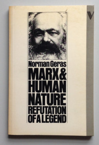 Marx And Human Nature, 1983