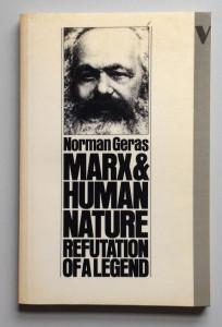 Marx And Human Nature, 1983
